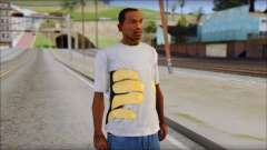 T-Shirt Hands para GTA San Andreas