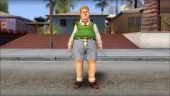 Algernon from Bully Scholarship Edition para GTA San Andreas