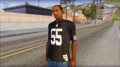 Oakland Raiders 55 McClain Black T-Shirt