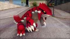 Groudon Pokemon para GTA San Andreas