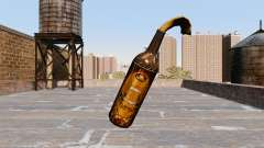 O Coquetel Molotov-Cerveja Vetor-