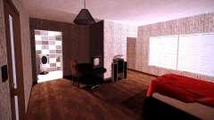 O interior do apartamento