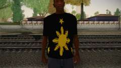 Its More Fun In Philippine T-Shirt para GTA San Andreas