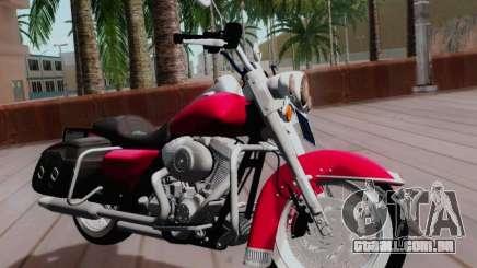 Harley-Davidson Road King Classic 2011 para GTA San Andreas