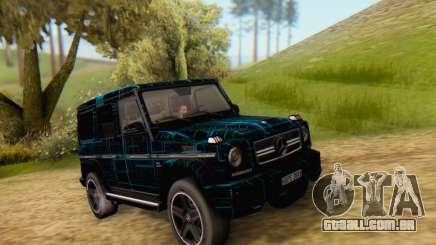 Mercedes-Benz G65 Black Square Pattern para GTA San Andreas