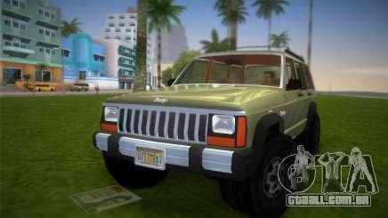 Jeep Cherokee v1.0 BETA para GTA Vice City