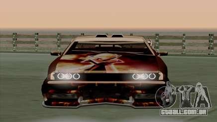 O trabalho da pintura para a Yakuza Elegia para GTA San Andreas