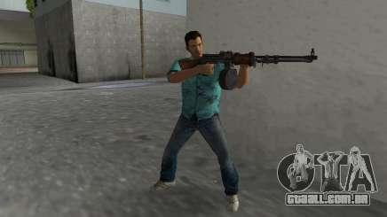 Degtyaryov Manual do Metralhadora para GTA Vice City