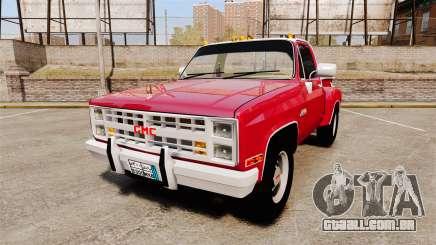 GMC 454 Pick-Up Up para GTA 4
