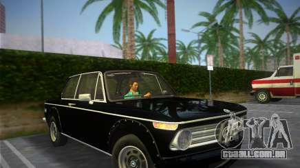 BMW 2002 Tii (E10) 1973 para GTA Vice City