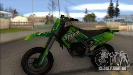 Sanchez from GTA V - Supermoto para GTA San Andreas