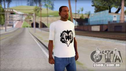 Free Bird T-Shirt para GTA San Andreas