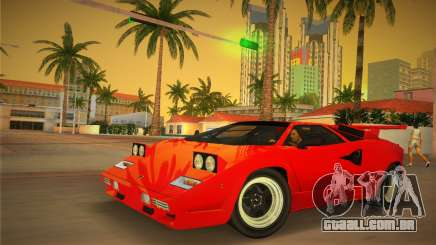 Lamborghini Countach LP5000 QV TT Custom para GTA Vice City