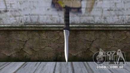Knife from Resident Evil 6 v2 para GTA San Andreas