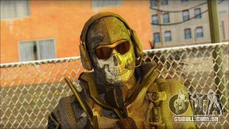 Latino Resurrection Skin from COD 5 para GTA San Andreas terceira tela