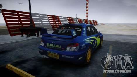 Subaru Impreza STI Group N Rally Edition para GTA 4 esquerda vista