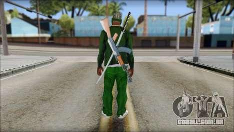 New CJ v5 para GTA San Andreas segunda tela