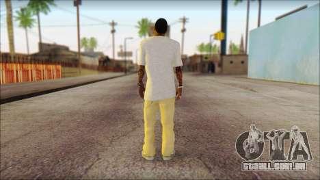 New Grove Street Family Skin v4 para GTA San Andreas segunda tela