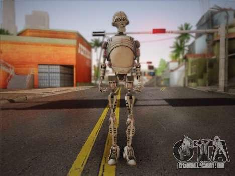 Kraang Robot para GTA San Andreas
