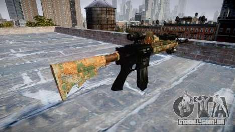 Automatic rifle Colt M4A1 selva para GTA 4 segundo screenshot