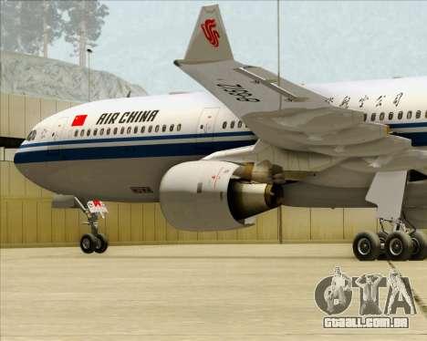 Airbus A330-300 Air China para o motor de GTA San Andreas