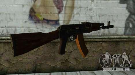 TheCrazyGamer AK74 para GTA San Andreas segunda tela
