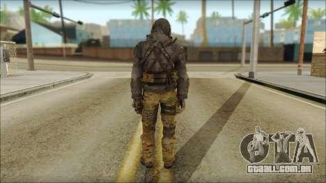 Latino Resurrection Skin from COD 5 para GTA San Andreas segunda tela