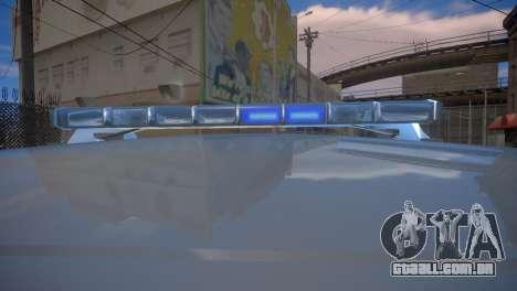 Mercedes-Benz GL450 AMG Police Interceptor 2013 para GTA 4 vista de volta