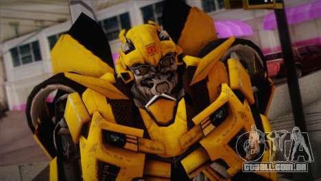 Bumblebee TF2 para GTA San Andreas terceira tela