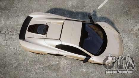 McLaren 650S Spider 2014 [EPM] Bridgestone v1 para GTA 4 vista direita