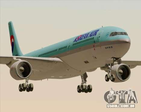 Airbus A330-300 Korean Air para GTA San Andreas