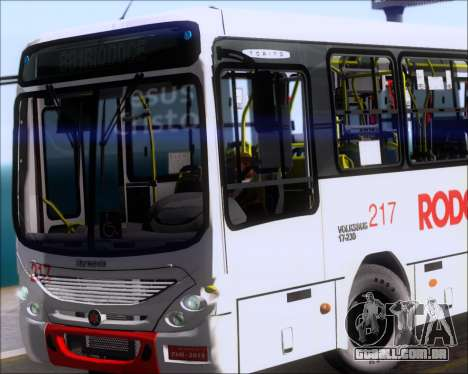 Marcopolo Torino G7 2007 - Volksbus 17-230 EOD para GTA San Andreas interior