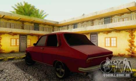 Dacia 1300 Stock 1979 para GTA San Andreas vista direita