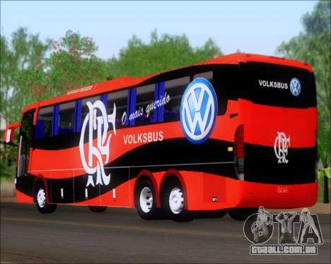 Busscar Elegance 360 C.R.F Flamengo para GTA San Andreas vista direita