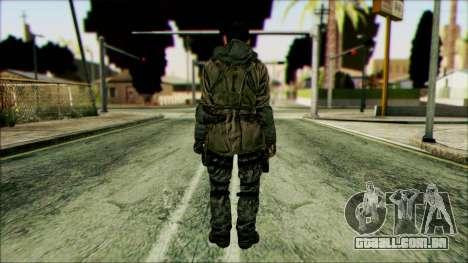 Lutador (PLA) v2 para GTA San Andreas segunda tela