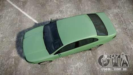 GTA V Vapid Taurus para GTA 4 vista direita