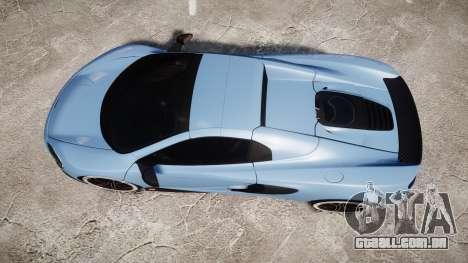 McLaren 650S Spider 2014 [EPM] Michelin v3 para GTA 4 vista direita