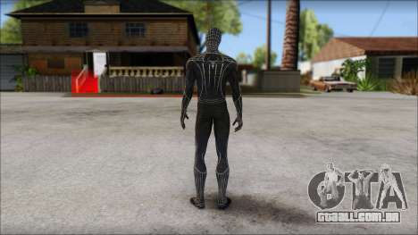 Standart Black Spider Man para GTA San Andreas segunda tela