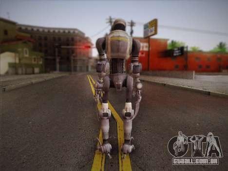 Mouser Human para GTA San Andreas segunda tela