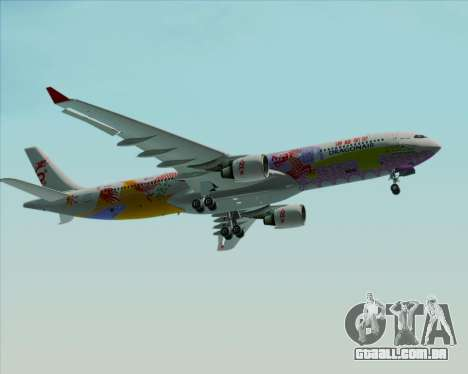 Airbus A330-300 Dragonair (20th Year Livery) para GTA San Andreas vista superior