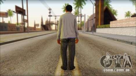 GTA 5 Ped 10 para GTA San Andreas segunda tela
