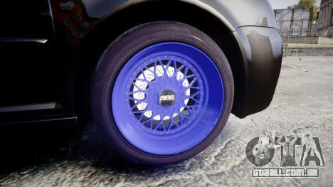 Volkswagen Golf Mk4 R32 Wheel1 para GTA 4 vista de volta