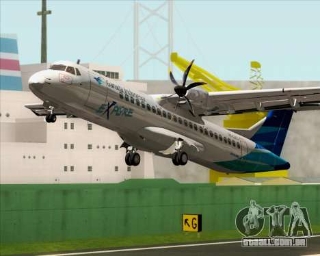 ATR 72-500 Garuda Indonesia Explore para GTA San Andreas interior