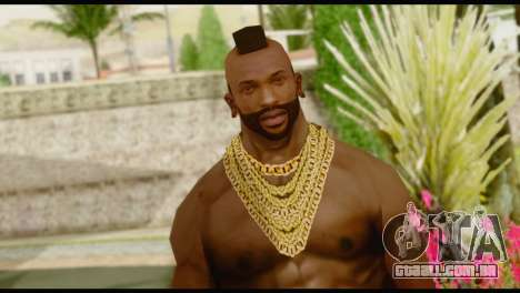 MR T Skin v1 para GTA San Andreas terceira tela