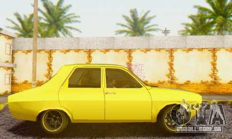 Dacia 1300 Old School para GTA San Andreas esquerda vista