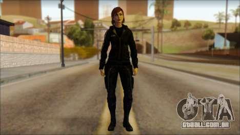 Mass Effect Anna Skin v10 para GTA San Andreas