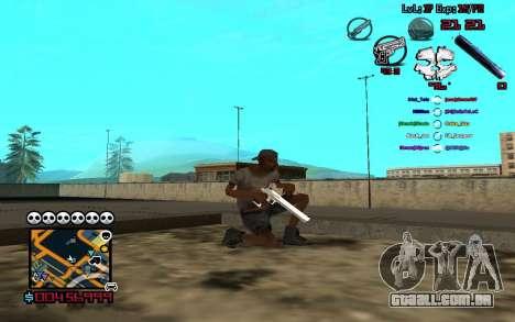 C-HUD by SampHack v.13 para GTA San Andreas