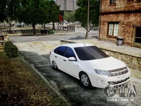 Lada Granta Liftback para GTA 4 esquerda vista