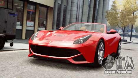 Ferrari F12 Roadster para GTA 4