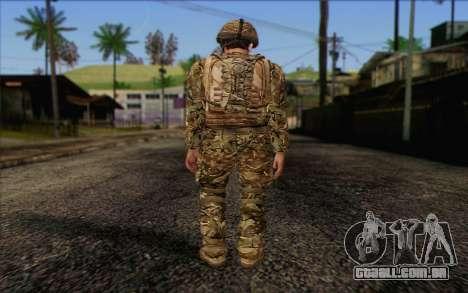 Soldados britânicos (ArmA II: BAF) v3 para GTA San Andreas segunda tela